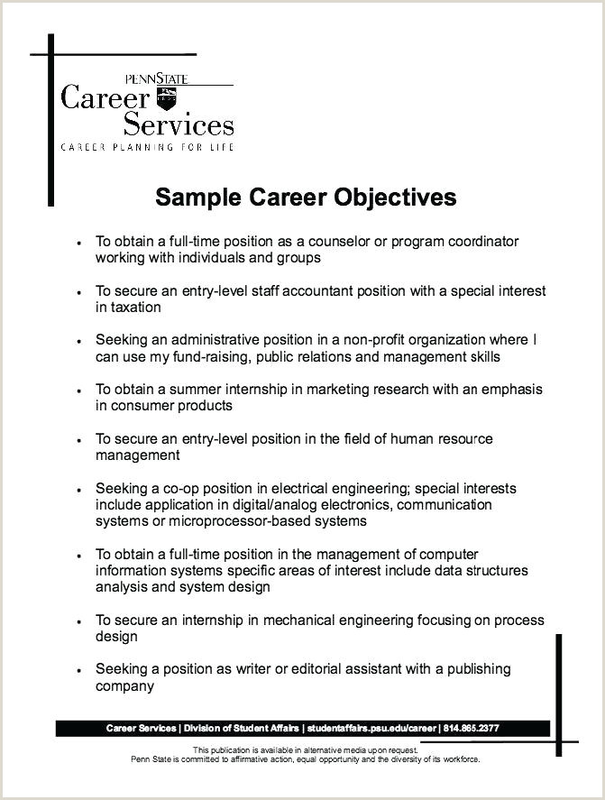 Resume Format For Job B.com Resume Templates Job Objective Sample Tourism Career