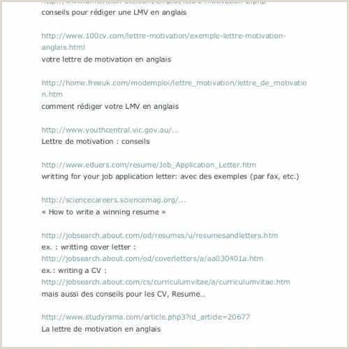 Resume Format For Job Blank Lettre Re Mandation Type Modele Lettre Motivation Merce