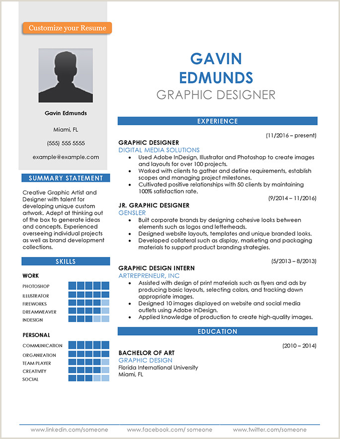 Resume Format For Job Create Resume Format Guide And Examples Choose The Right Layout
