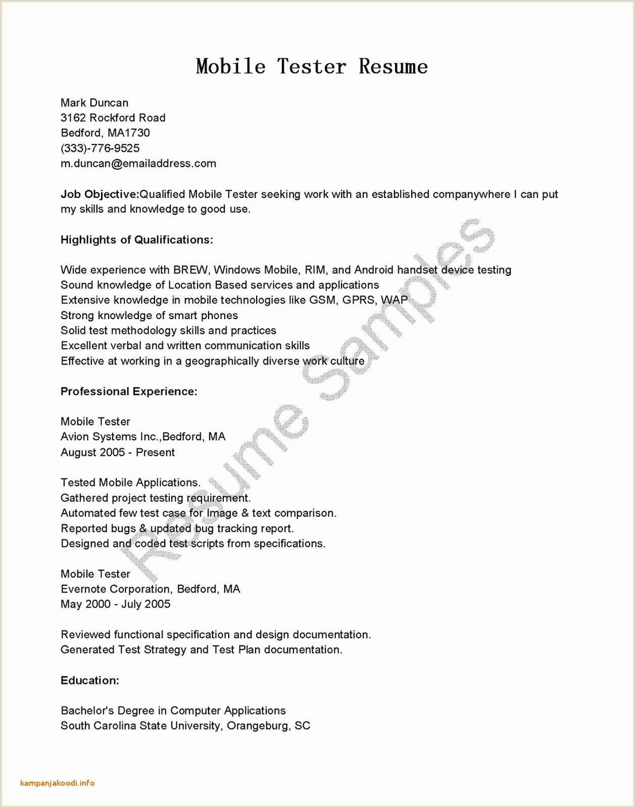 Resume Format For Job Doc Writing A Proposal Template