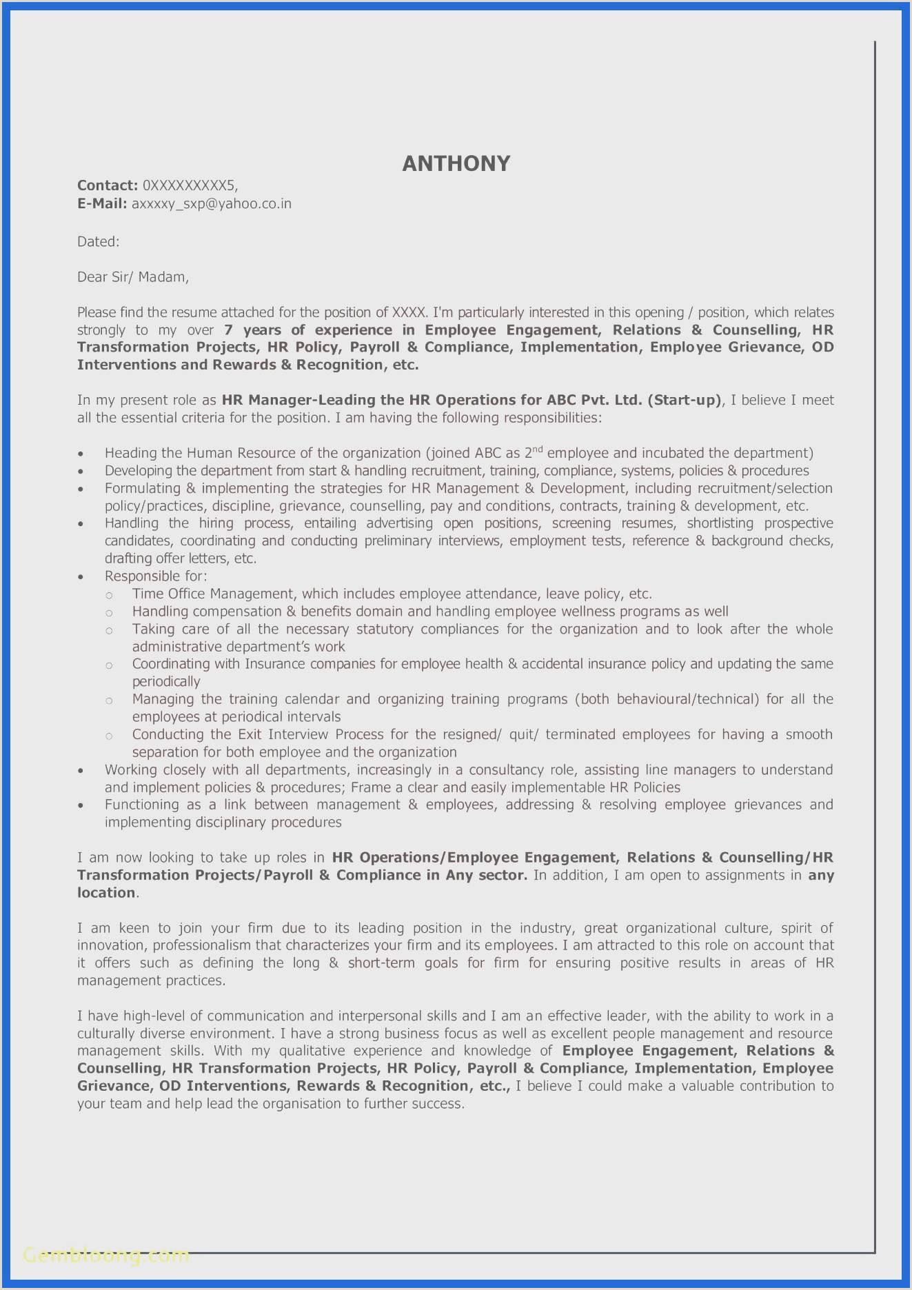 Resume format for Job Download Modele Cv Open Fice Meilleur De 10 Open Fice Resume