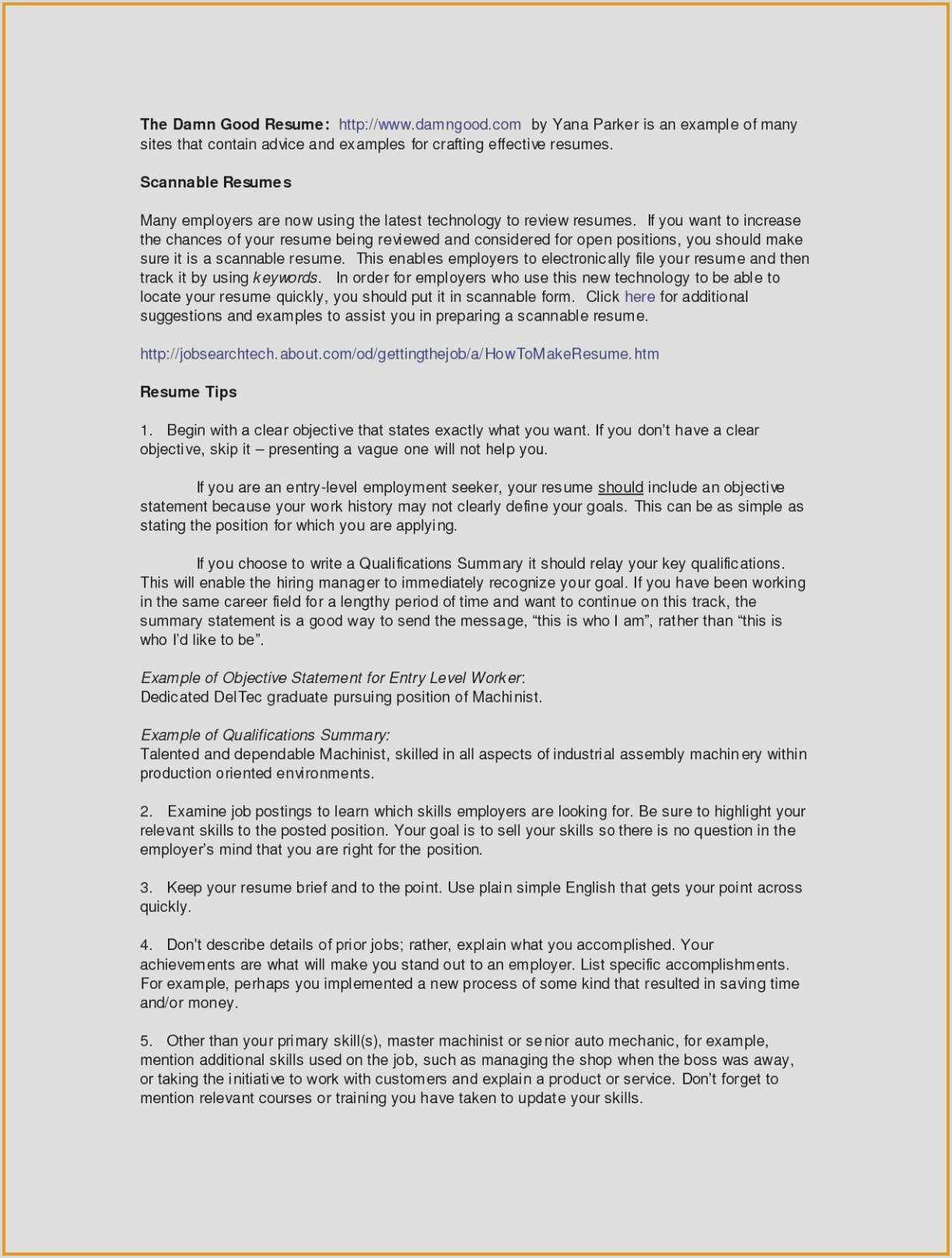 Resume format for Job Easy Free 57 Career Focus Resume Model