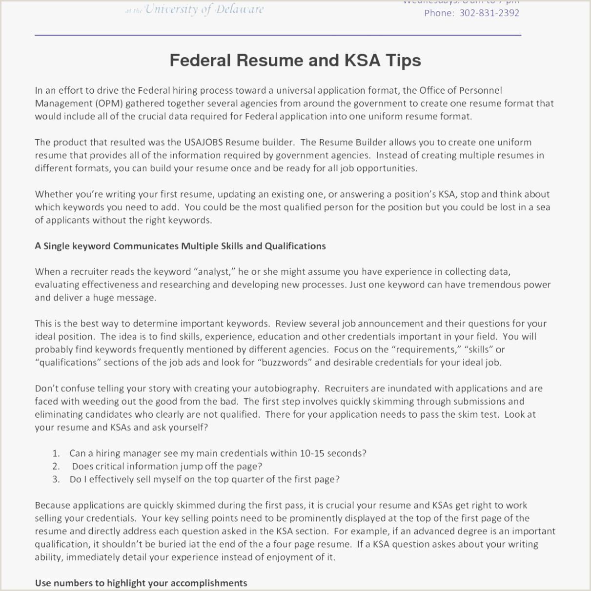 Resume format for Job Easy Usajobs Resume Example – Kizi Games