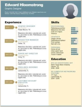 Resume Format For Job Experience Download 400 Free Resume Templates & Cover Letters [download]