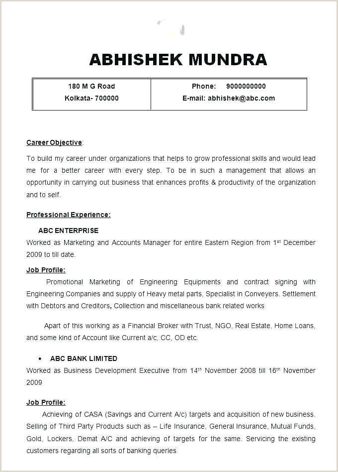 Resume format for Job Fresher Download Free Resume Sample – Growthnotes