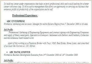 Resume Format For Job Fresher Download Resume Formats For Fresher Free Sample Resume Bank Job