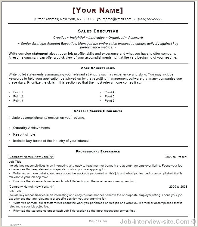 Resume format for Job Fresher Word Resume format In Word File – Arzamas