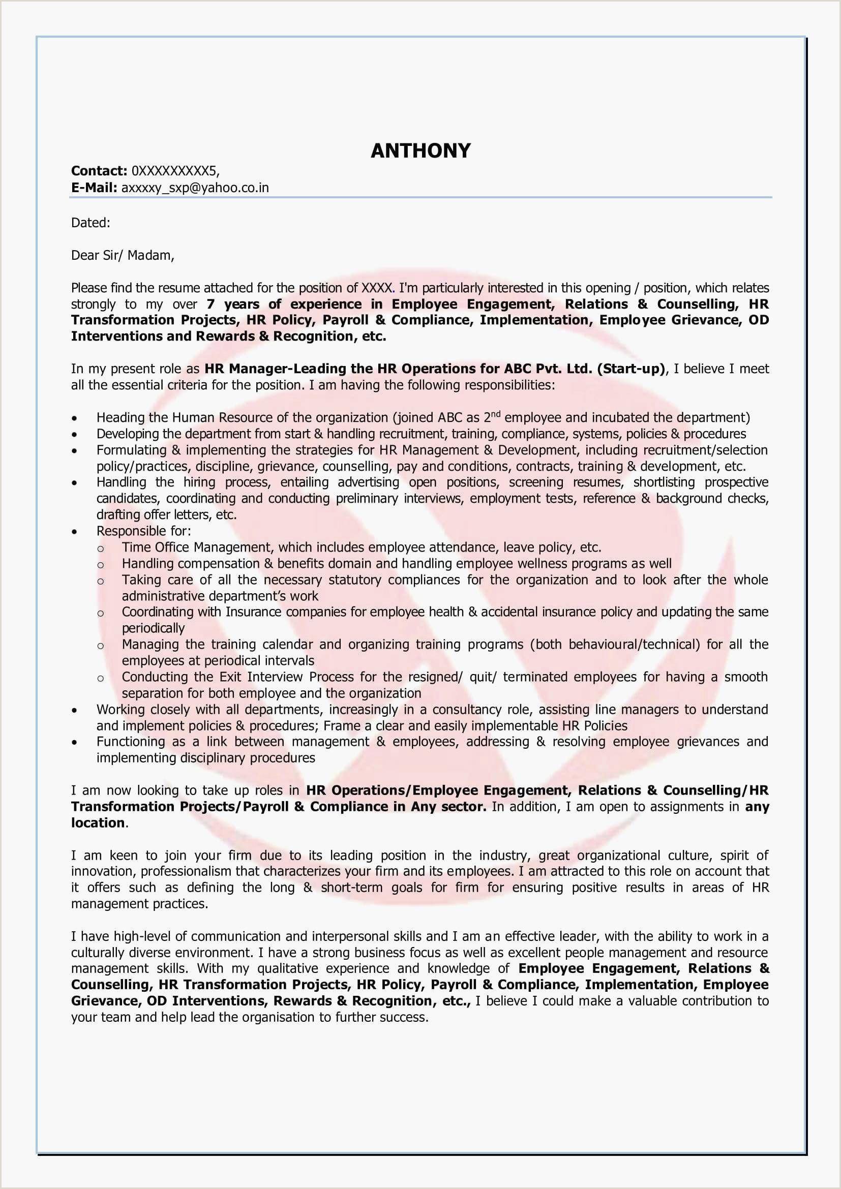 Resume Format For Job Hd Exemple De Cv Cuisinier Modele De Cv Cuisinier Agréable