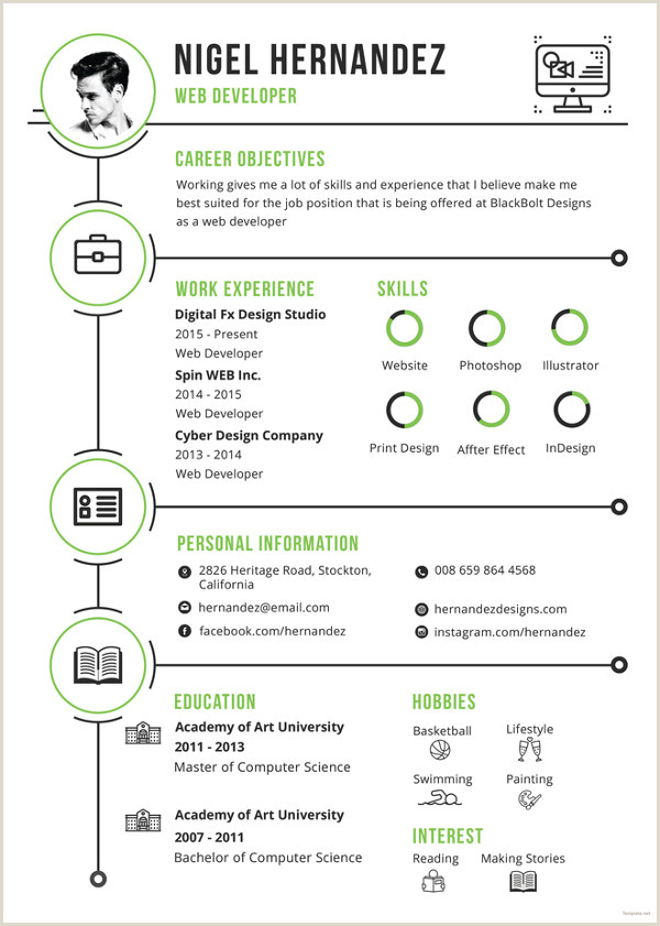 Resume Format For Job Malaysia 33 Infographic Resume Templates Free Sample Example