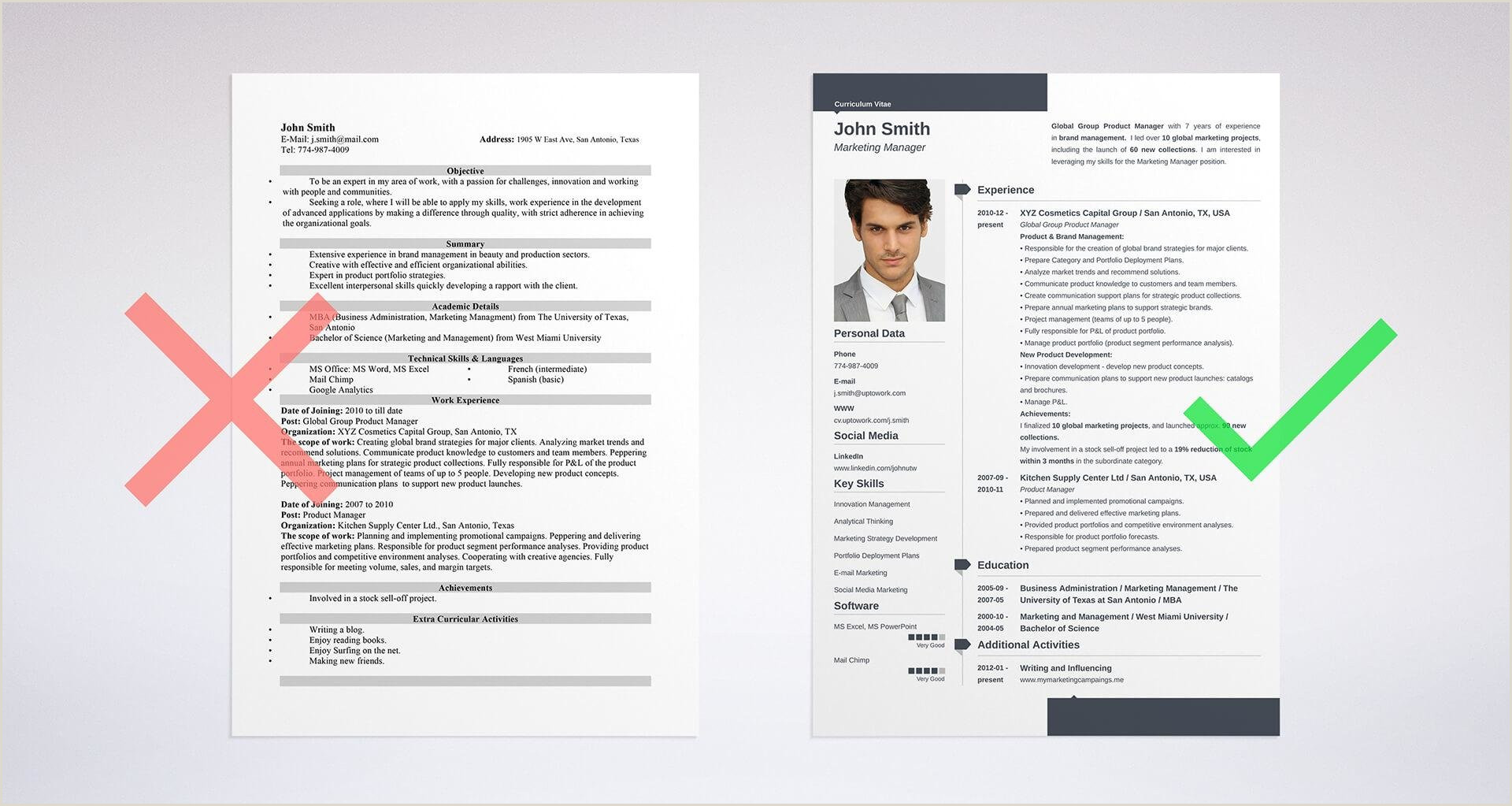 Resume Format For Job Mba Cv Vs Resume Difference Definitions & When To Use Which