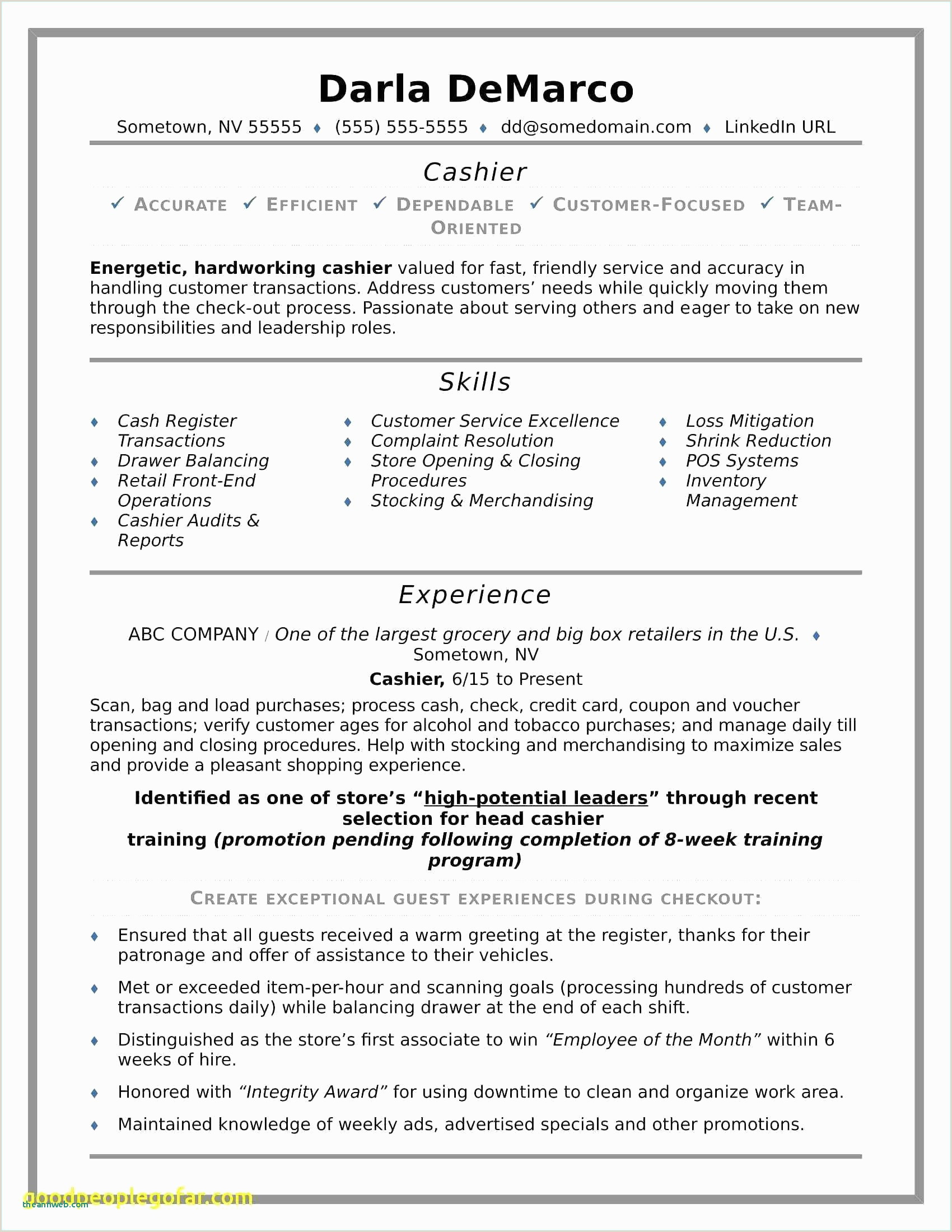 Resume format for Job New Simple Resume format Free Easy Resume Template Simple Job