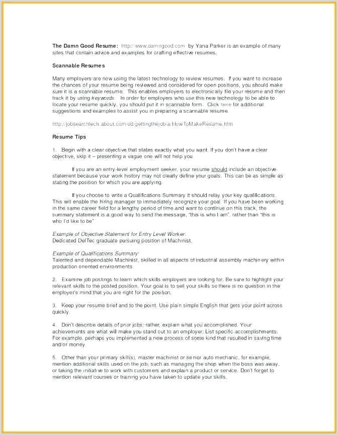 resume format for part time job – wikirian