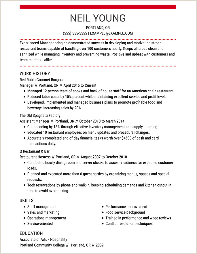 Resume format for Job Online Resume format Guide and Examples Choose the Right Layout
