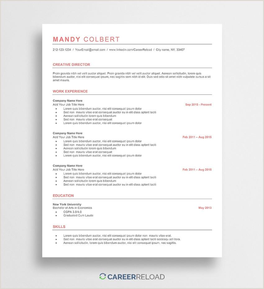 Resume Template Quora • Blackbackpub