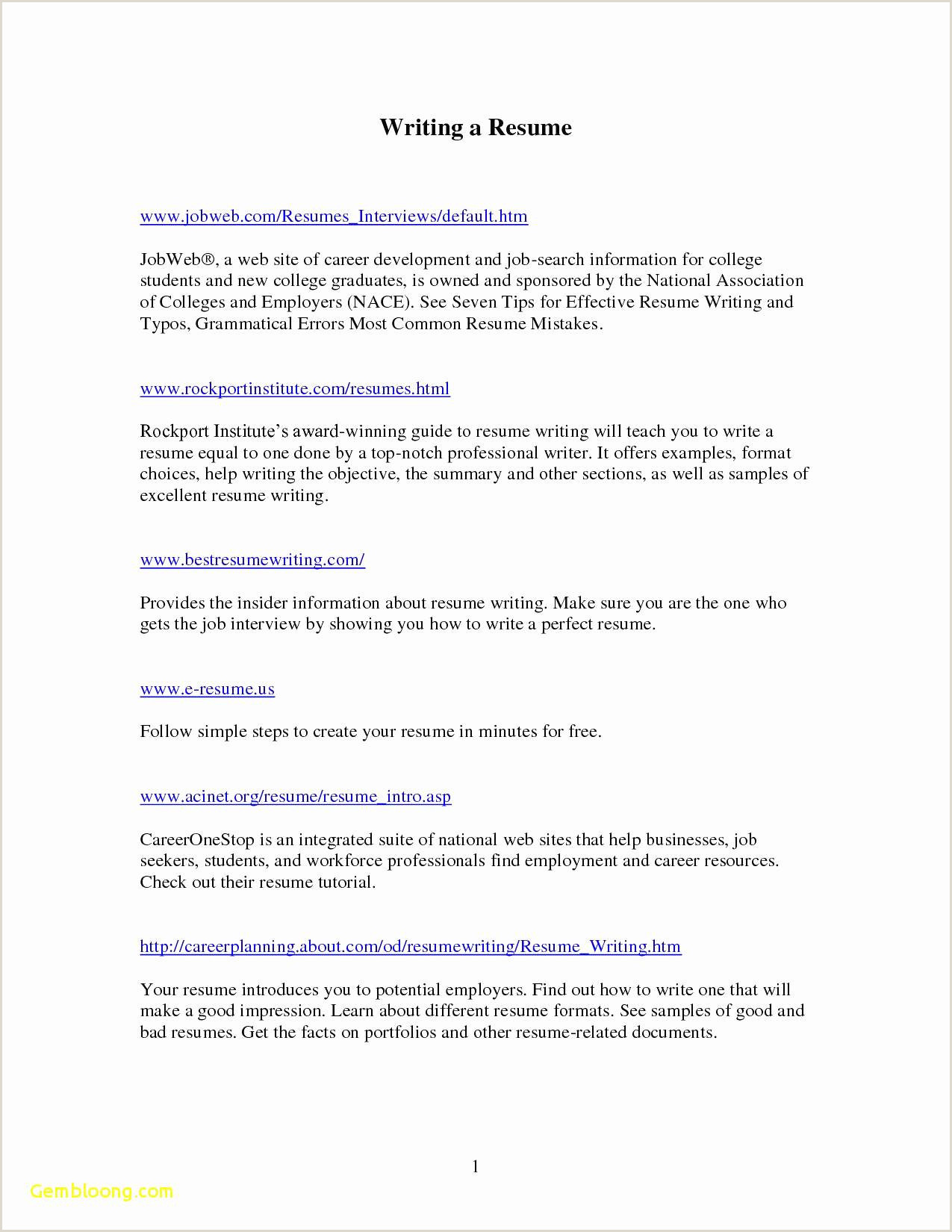 Resume format for Job Simple 46 Simple Site Internet Cv Worldindoorlacrosse