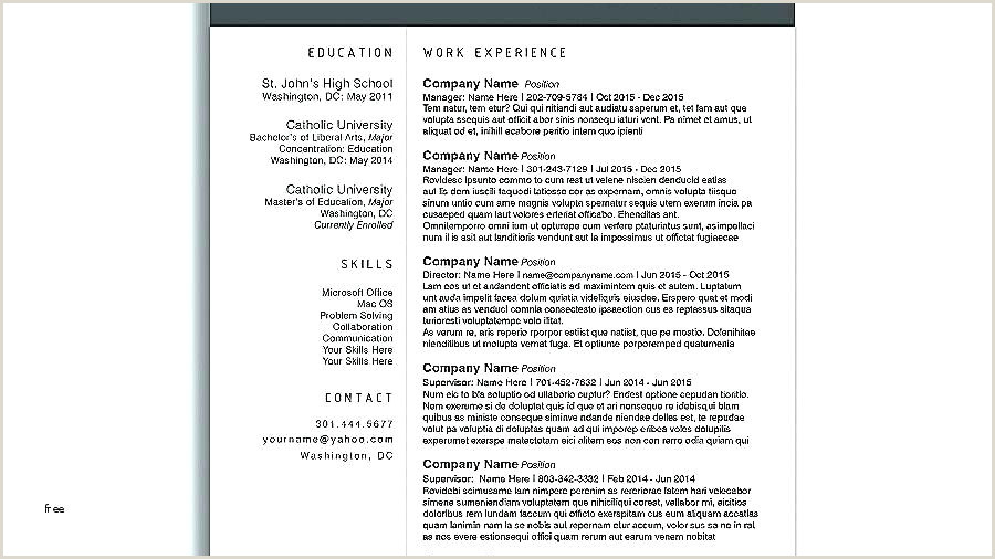 Job Application Template Word Luxury Creative Resume