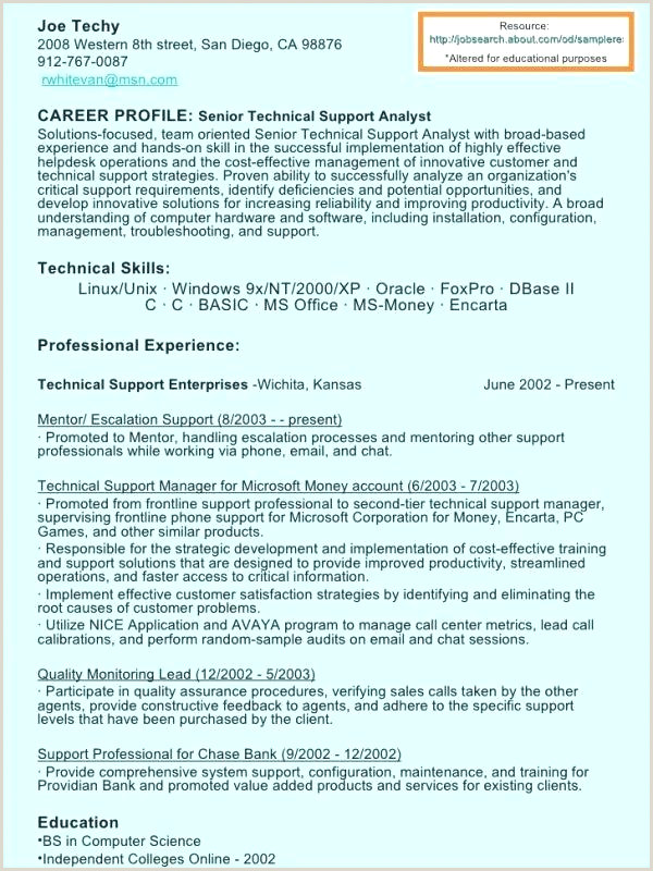 Resume Format For Lecturer Job In Computer Science 10 Puter Science Resume Template