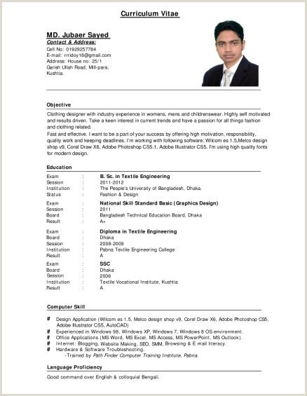 Resume format for Lecturer Job In Engineering College Sample Resume for Teacher Job Teachers Doc Education In
