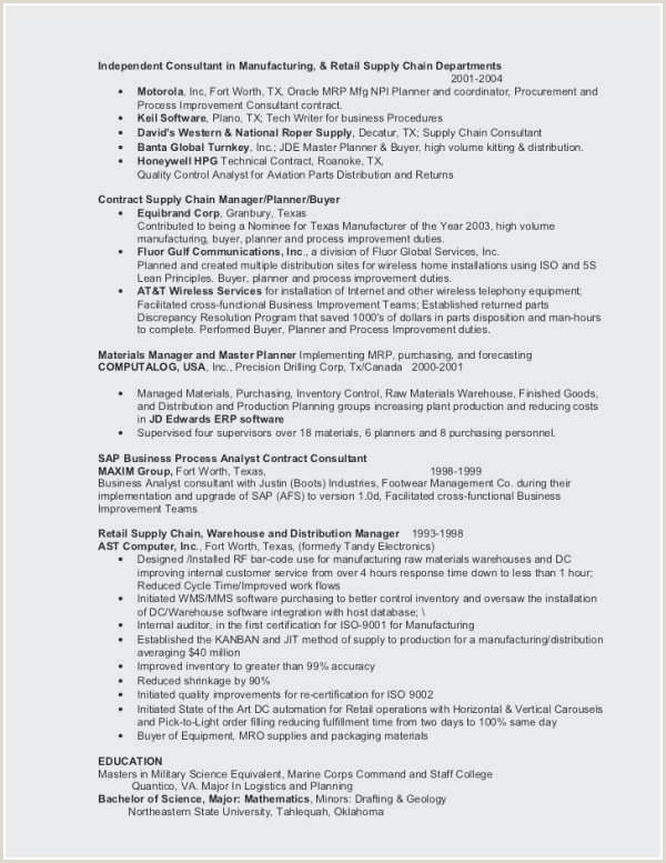 Resume format for Logistics Job 40 Inspirational How to Do A Job Resume format Collection