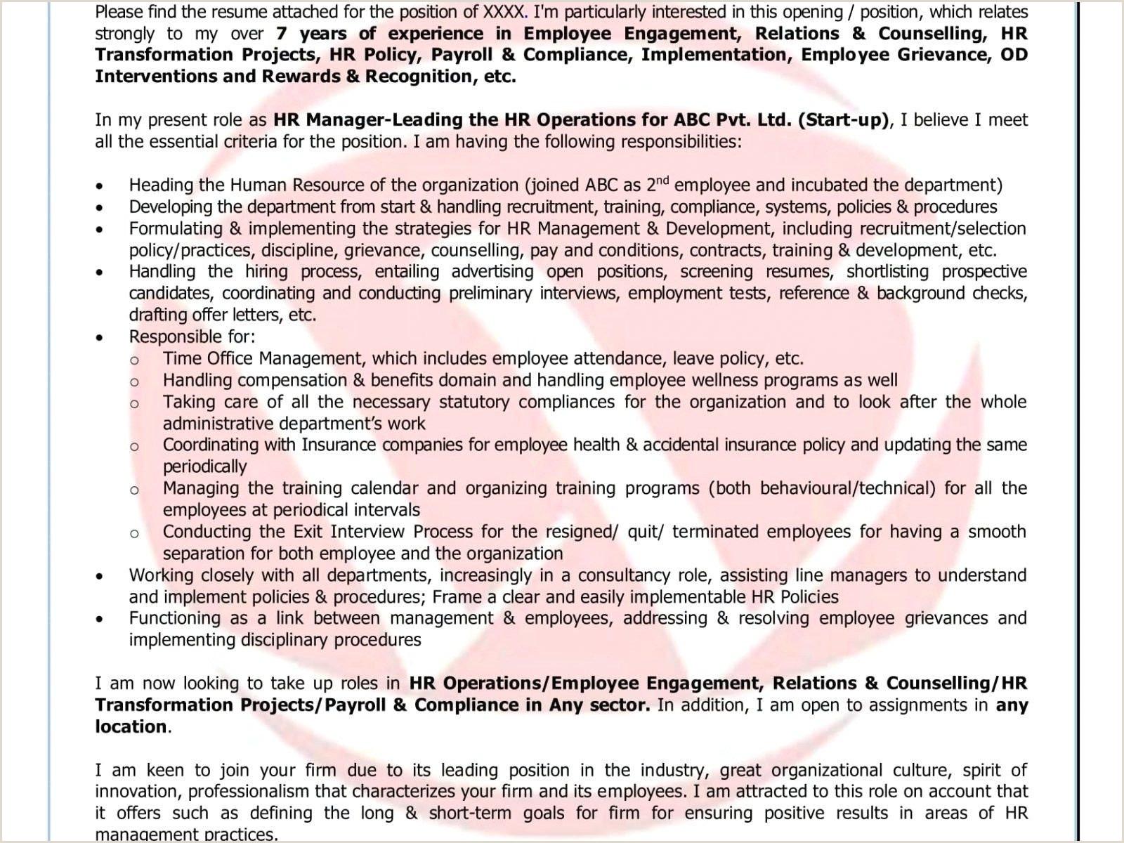 Resume Format For Logistics Job Warehouse Supervisor Resume Sample