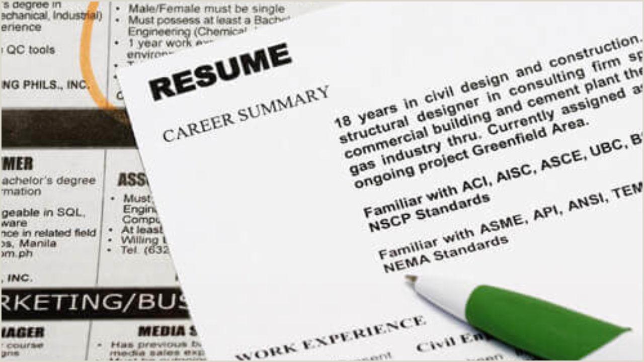 Resume format for Ngo Job 30 Basic Resume Templates