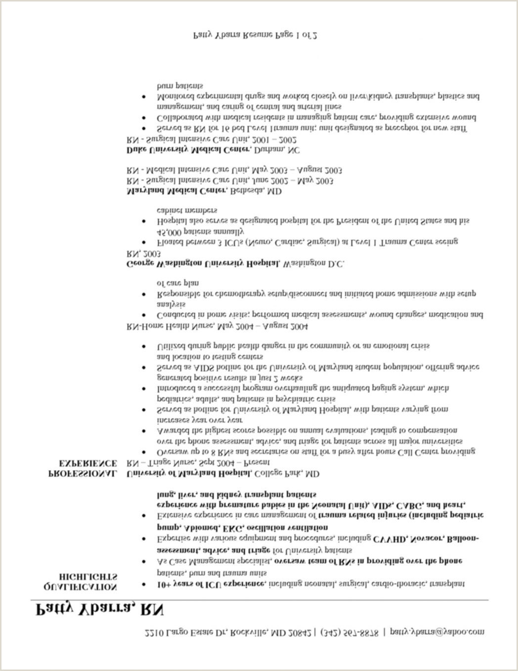 Resume format for No Job Experience 8 Student Nurse Examples Word 2019 High with No Work