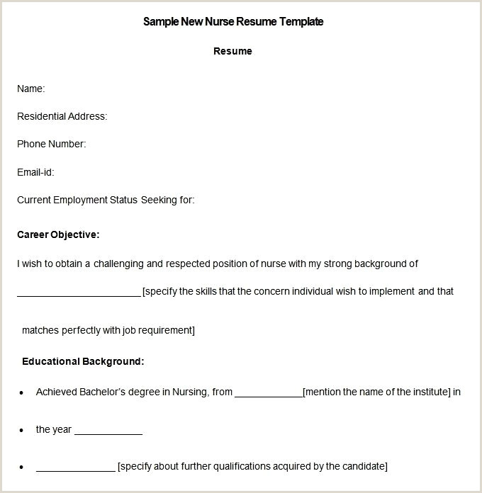 Resume Format For Nursing Job Free Download Format Fräser Zya 0616 6 Mx – Page 4 – Iamfreeub