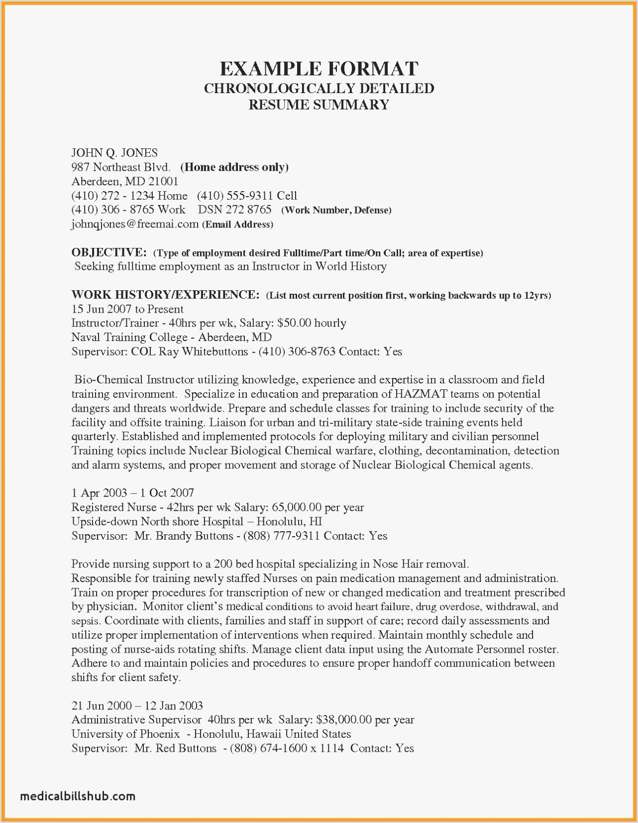 Resume format for Nursing Job Lovely Resume Template Nursing Australia – Kursknews