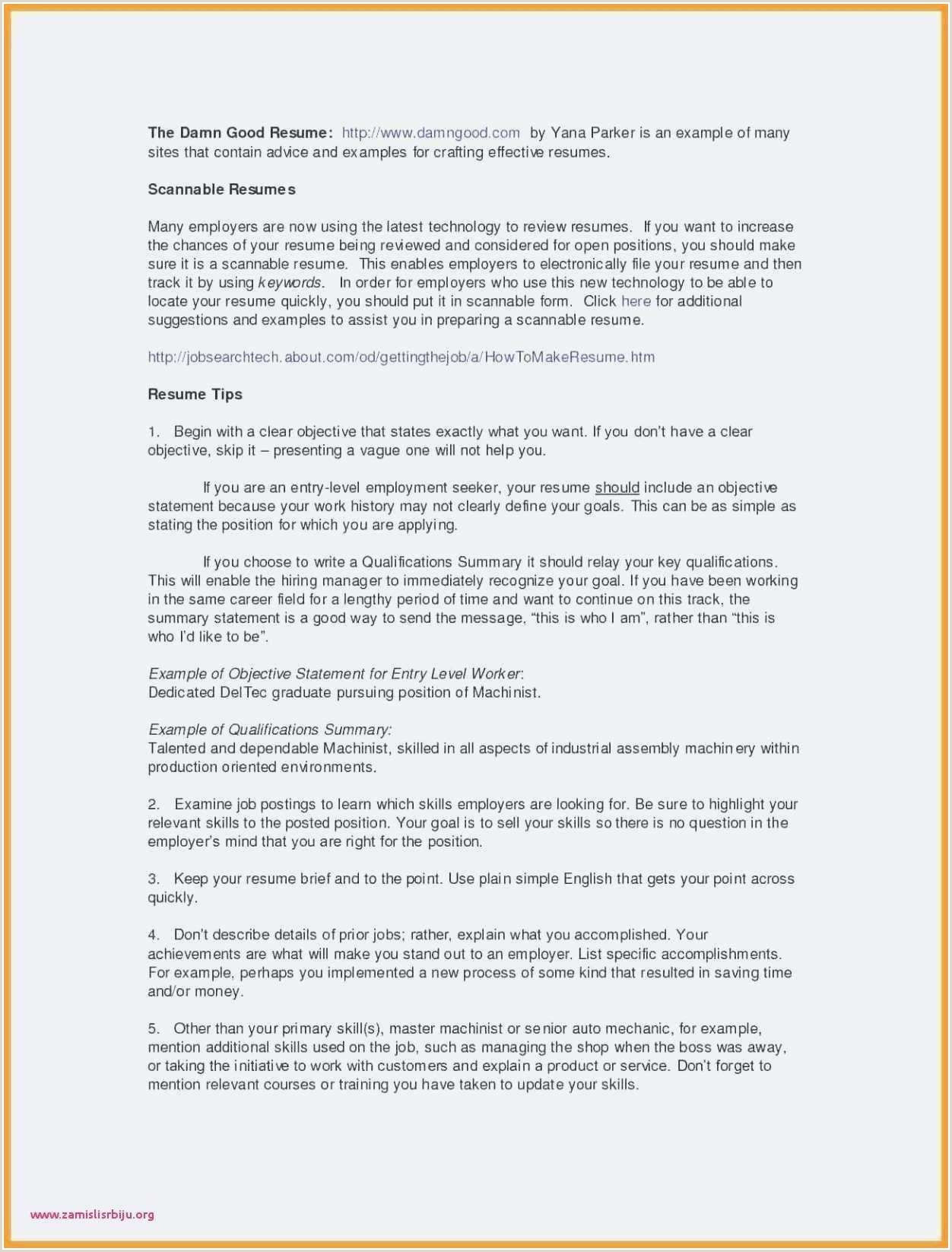 Resume format for On Job Training Cv format Paysage De Base Cv format Example Examples Us