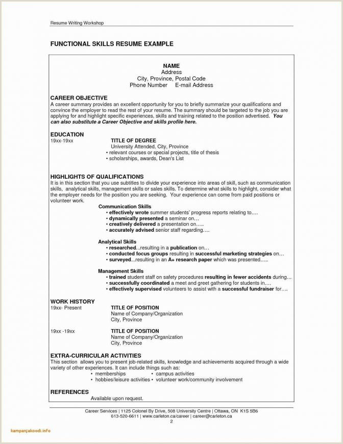 Resume format for On Job Training Letter formal Greetings Friendly Luxury Od Cover Use