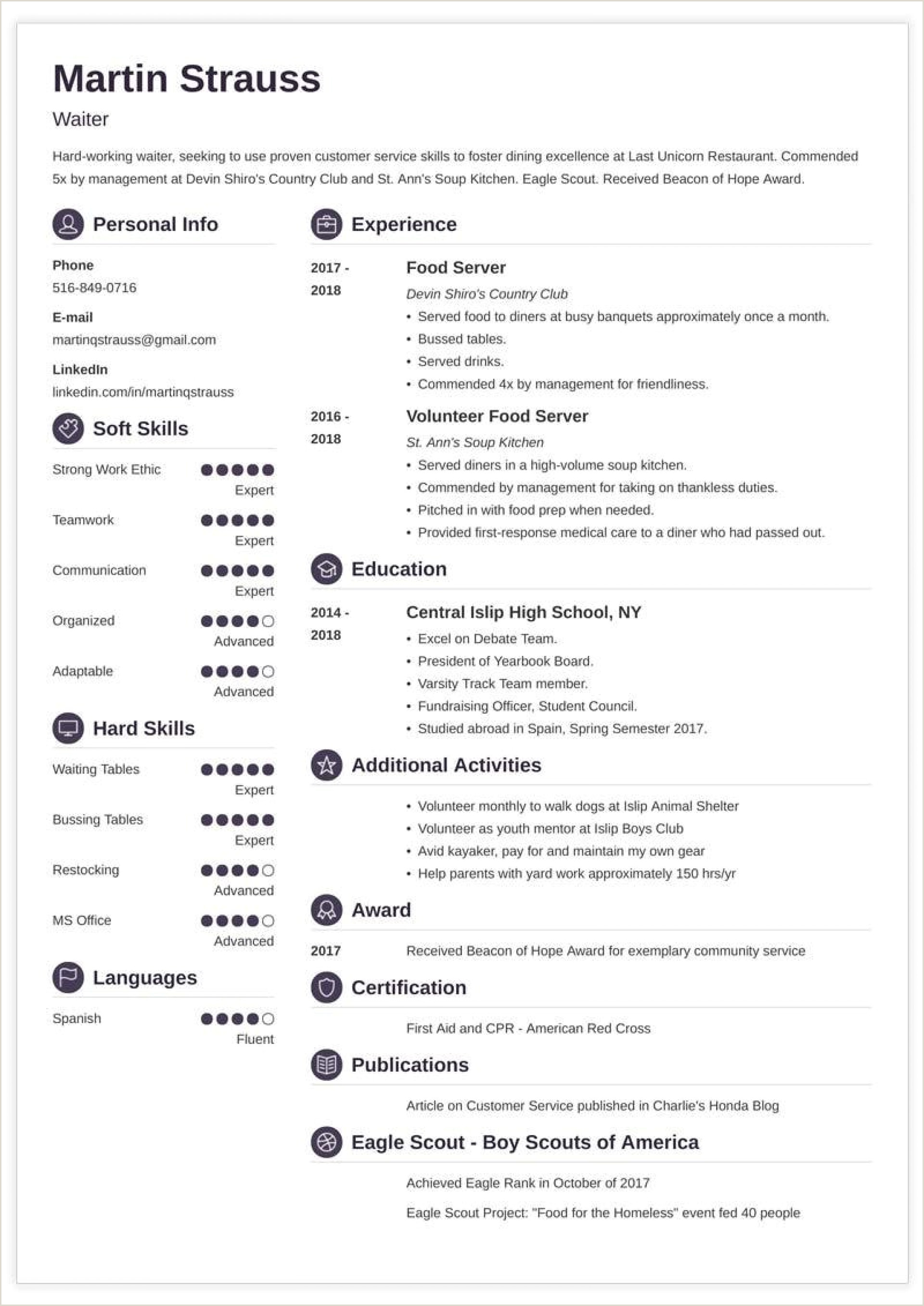 Resume format for One Job Teen Resume Template Download Free Templates No Www Auto