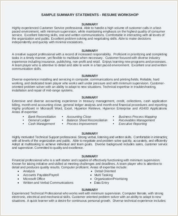 Resume format for Retail Job Cv Pour Quick échantillon Quick Resume Template Free