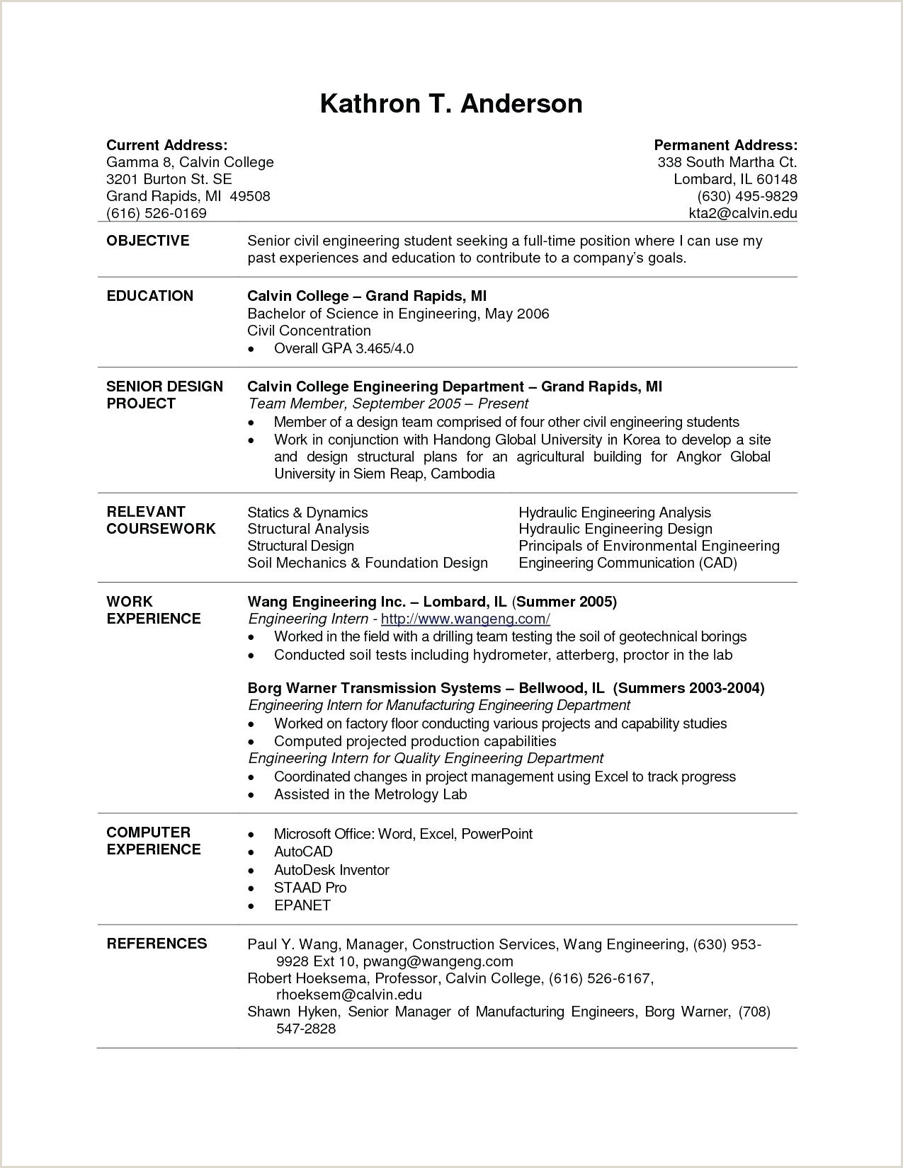 10 college student resume samples examples