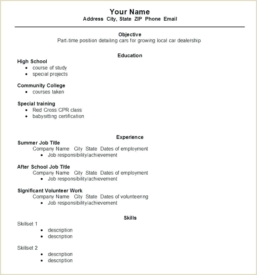 resume template for students – emelcotest