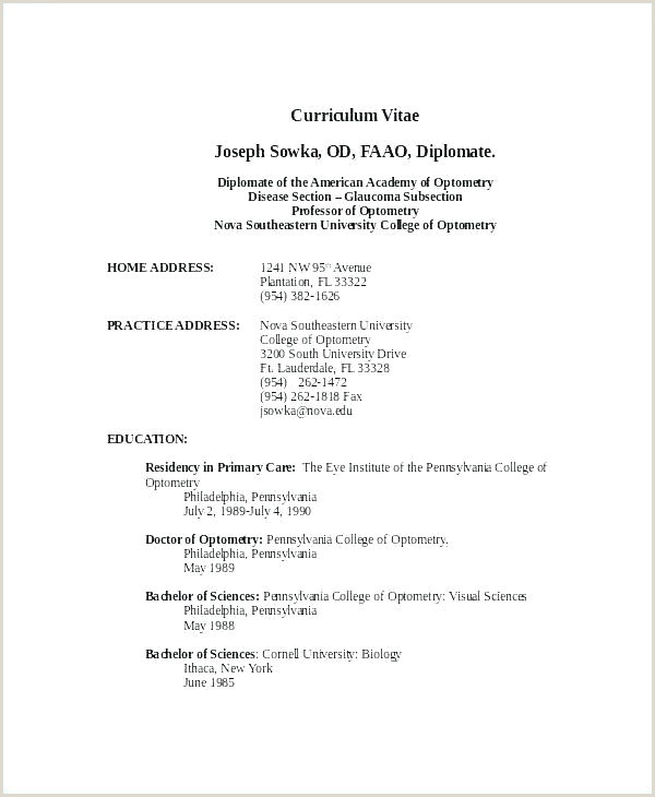 Resume format for Teacher Job In Pdf First Job Resume Template
