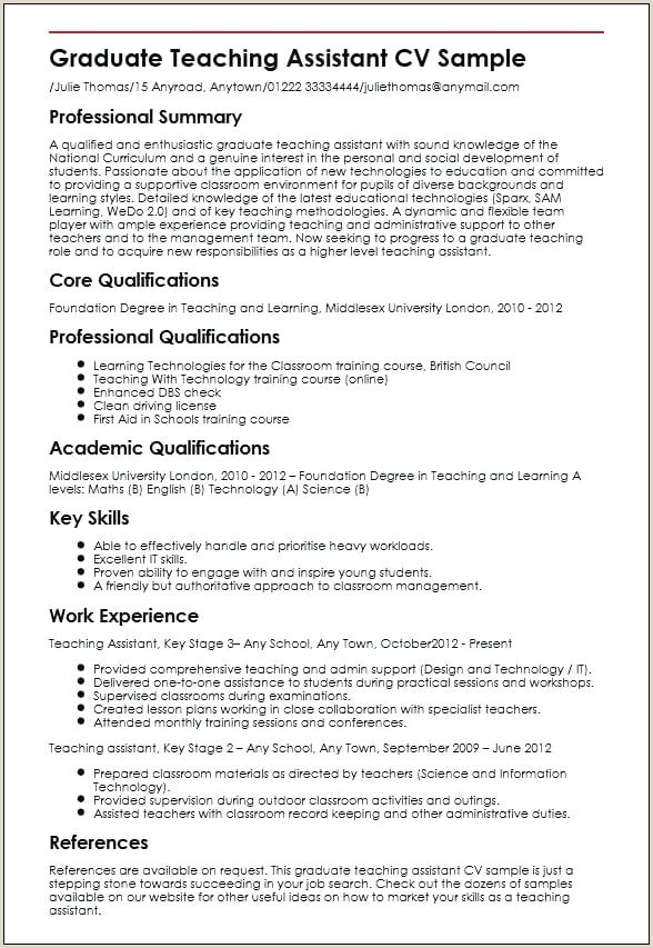 Resume format for Teacher Job Pdf Admin assistant Template Administrative Teacher Sample Cv Uk