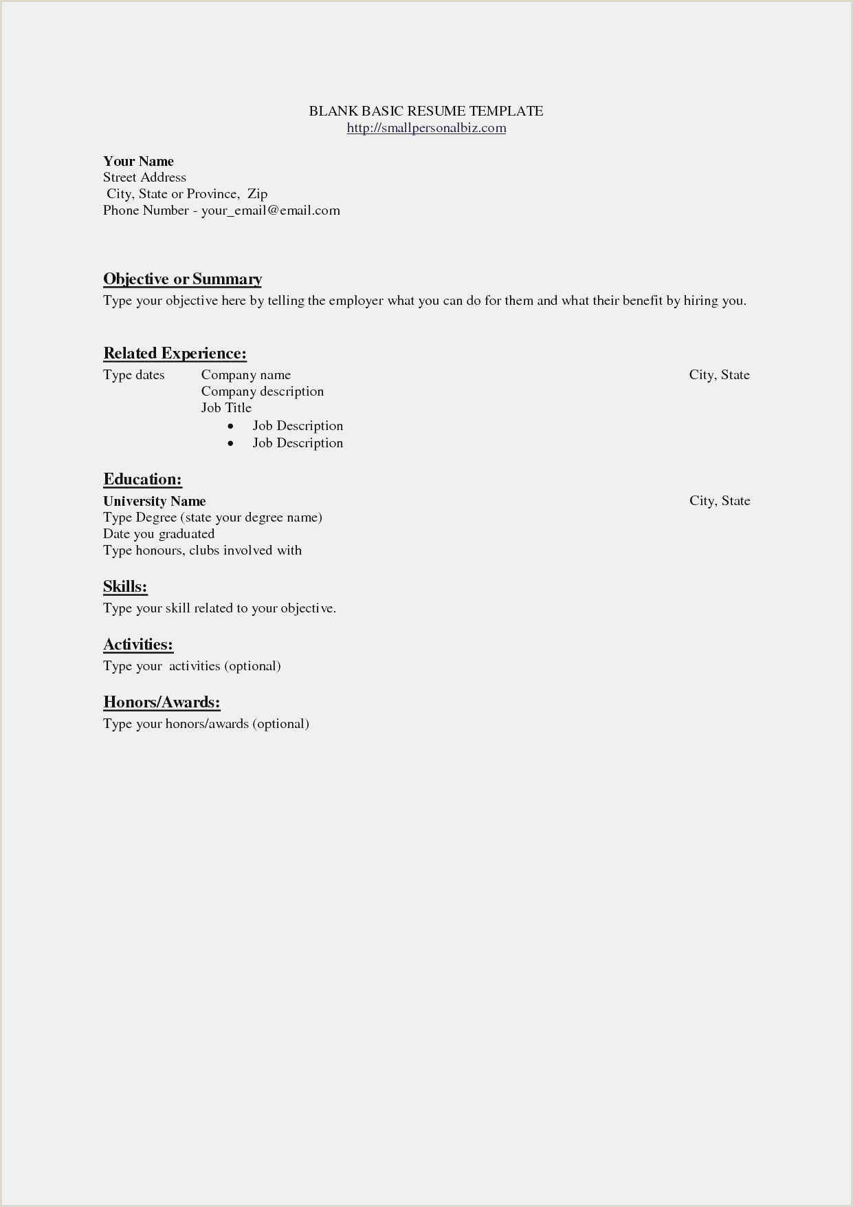 Resume format for Teacher Job Pdf Free Download 12 Education Resume Template Word Examples