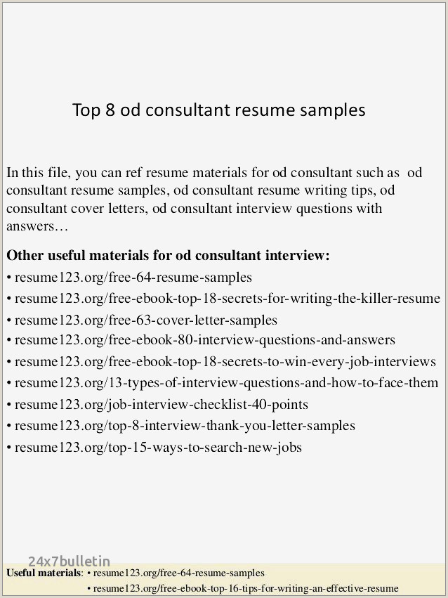 25 Best Resume Teaching Examples
