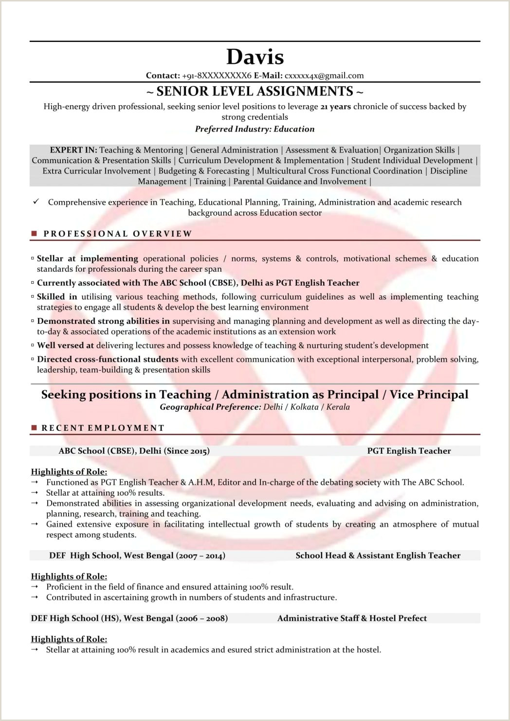 Sample Format Teaching Visiting Faculty Samples Substitute