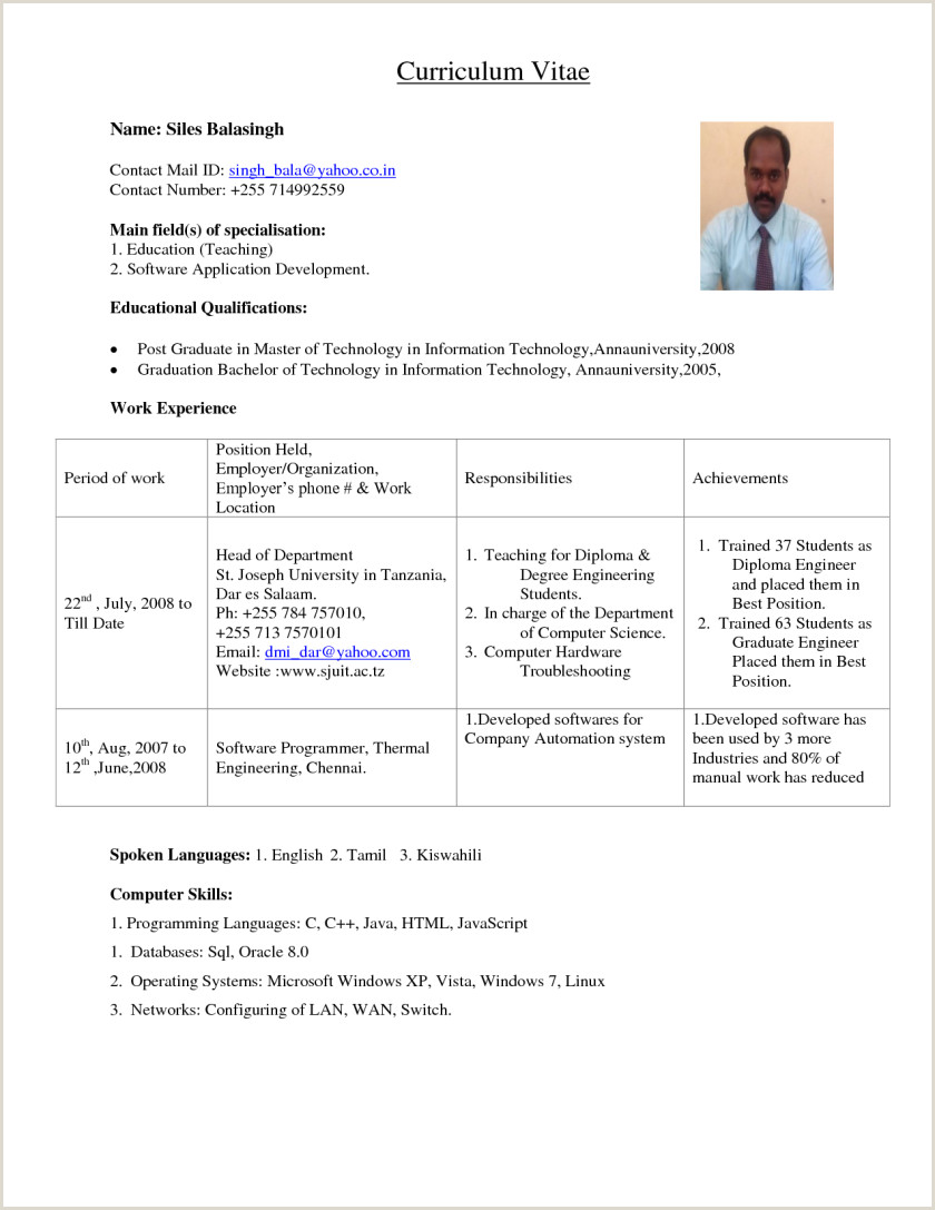 Resume Objective Examples And Writing Tips Sample Career