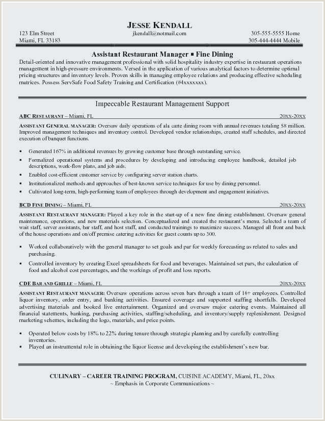 Best Best Resume format for Finance Jobs