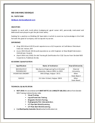 Resume format for Welder Job Peshawar Board Ssc Exams Irrelevant Teachers assigned Paper
