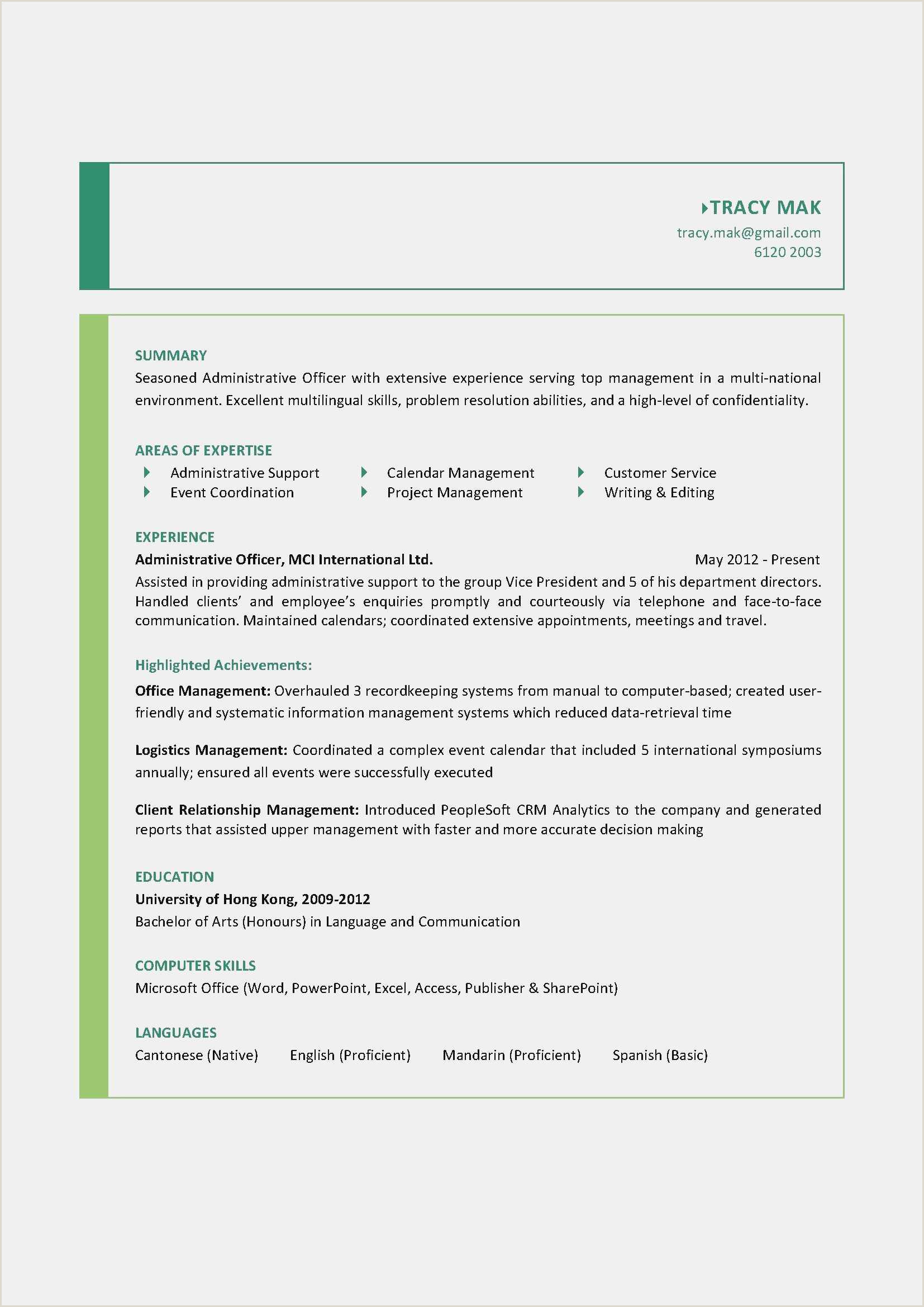 Download Education Resume Template New It Resume Examples