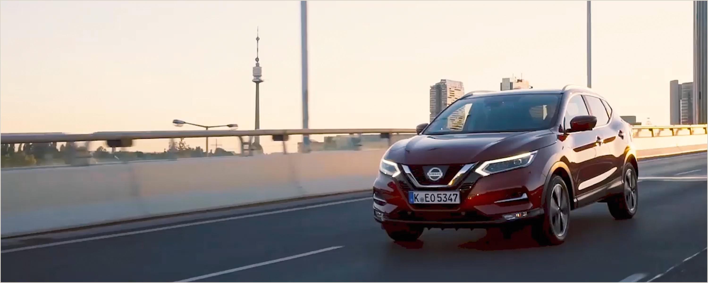 Nissan QASHQAI SUV urbain technologiquement avancé