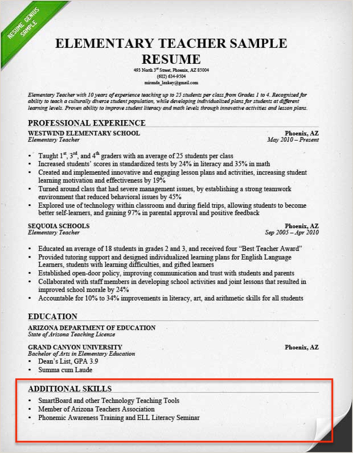 Leadership Skills Resume Examples Best Petency Based Resume