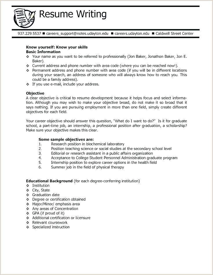 best resume objectives – emelcotest