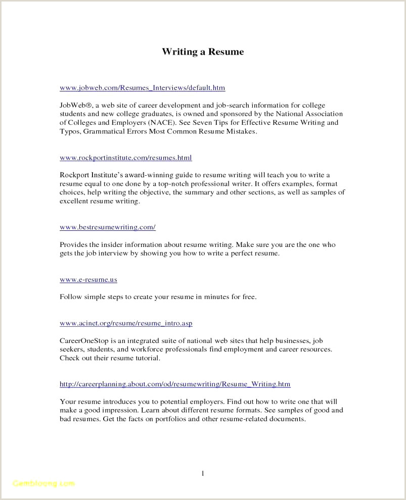 Resume Samples for Healthcare Professionals 22 Elegant Resume Examples for Healthcare