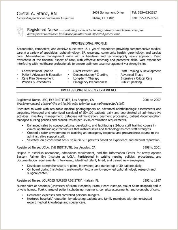 New Grad RN Resume Nurse Resume Service