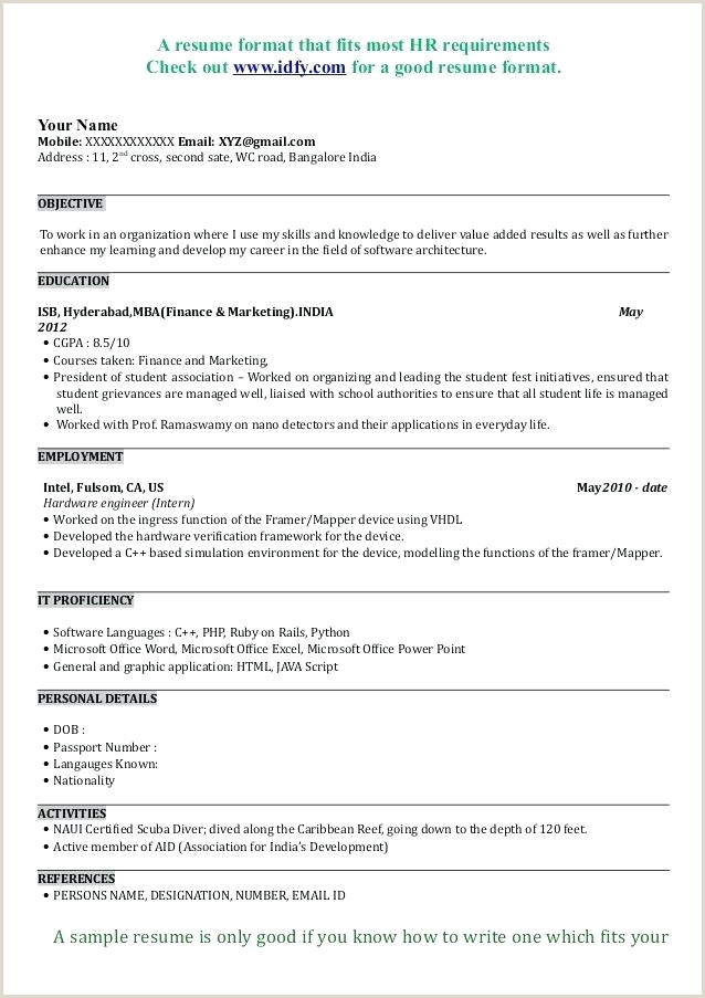 Resume Samples for Jobs In India Pdf Mba Resume Sample – Airexpresscarrier