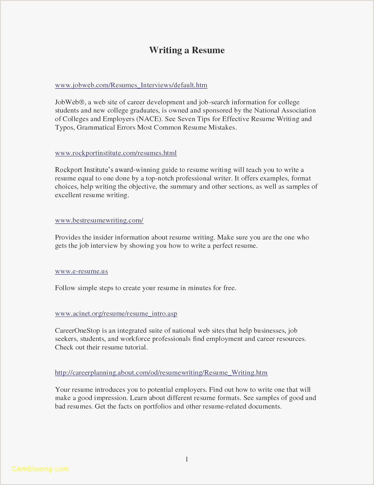 Resume Template for Restaurant Server Cover Letter for Restaurant Server Awesome New Sample Resume